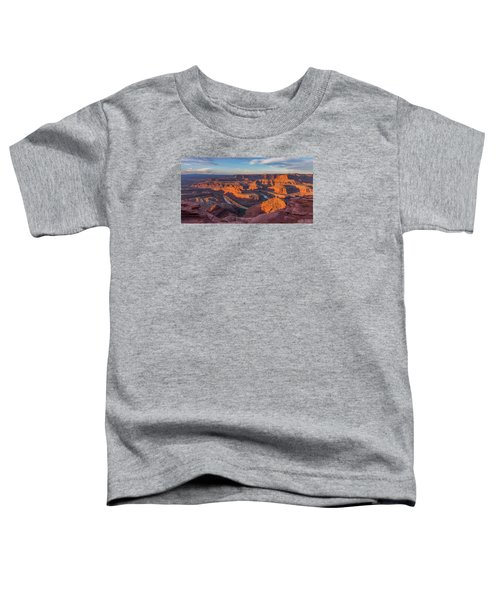 Dead Horse Point Sunrise Panorama Toddler T-Shirt