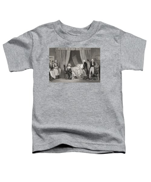 Death Of Washington December 1799 Toddler T-Shirt