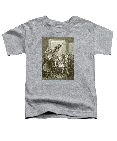 Declaration Of The Independence Of The United States Toddler T-Shirt