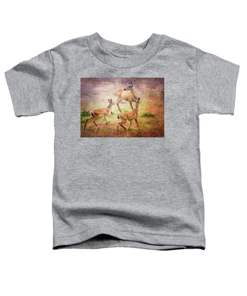 Deer On Vancouver Island Toddler T-Shirt