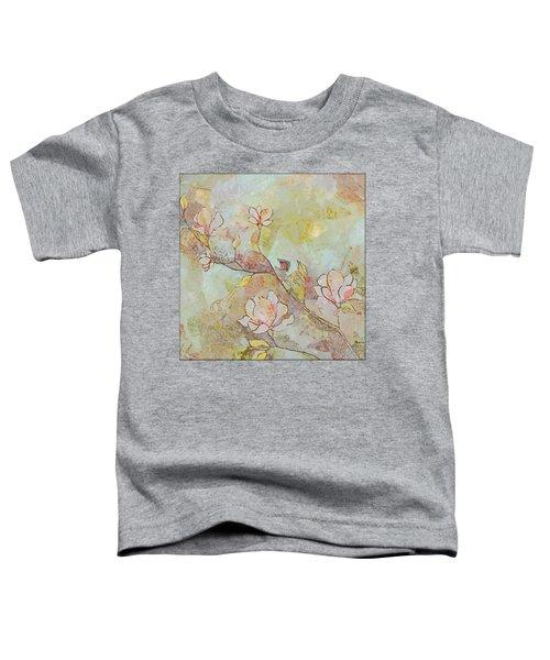 Delicate Magnolias Toddler T-Shirt
