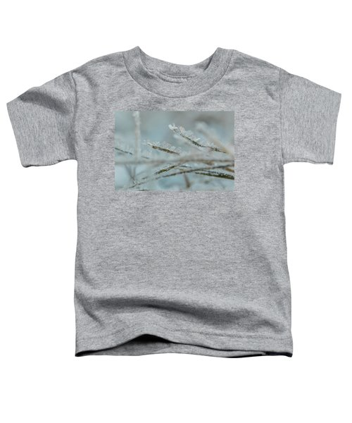 Delicate Morning Frost  Toddler T-Shirt