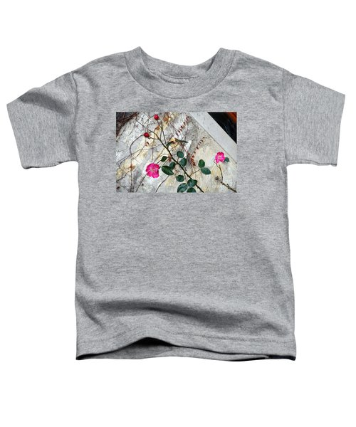 Delicate Rose In December Toddler T-Shirt