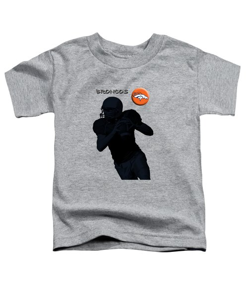 Denver Broncos Football Toddler T-Shirt