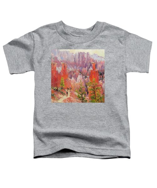Descent Into Bryce Toddler T-Shirt