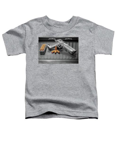 Desert Eagle .50ae Magnum Toddler T-Shirt