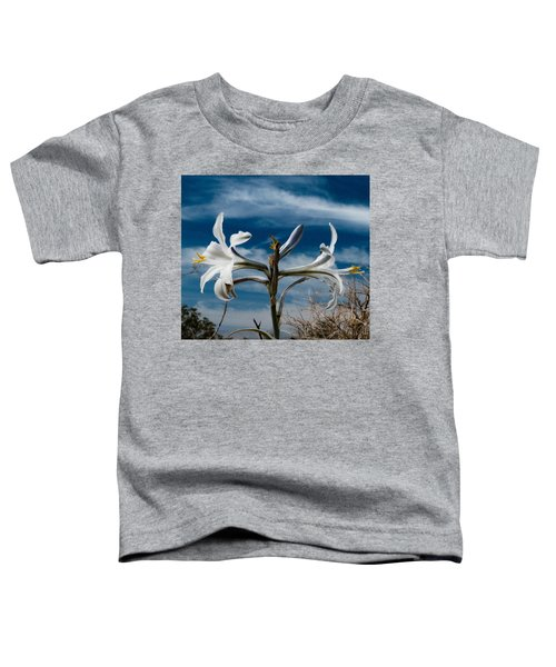 Desert Lilly Close Up Toddler T-Shirt