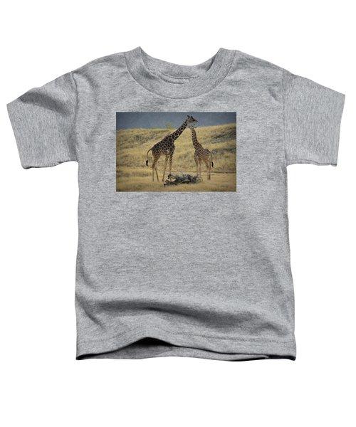 Desert Palm Giraffe Toddler T-Shirt