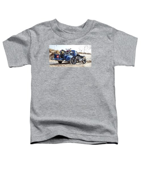 Desert Racing Toddler T-Shirt by Mark Rogan