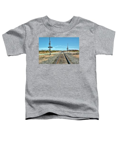 Desert Railway Crossing Toddler T-Shirt