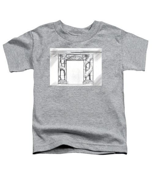 Design For Trompe L'oeil Toddler T-Shirt