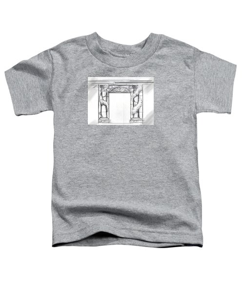Design For Trompe L'oeil Toddler T-Shirt