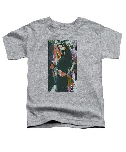 Destinations Abstract Portrait Toddler T-Shirt