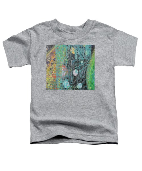 Detail From Creation Of Adam And Eve Toddler T-Shirt