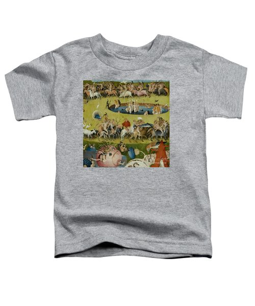 Detail From The Central Panel Of The Garden Of Earthly Delights Toddler T-Shirt by Hieronymus Bosch