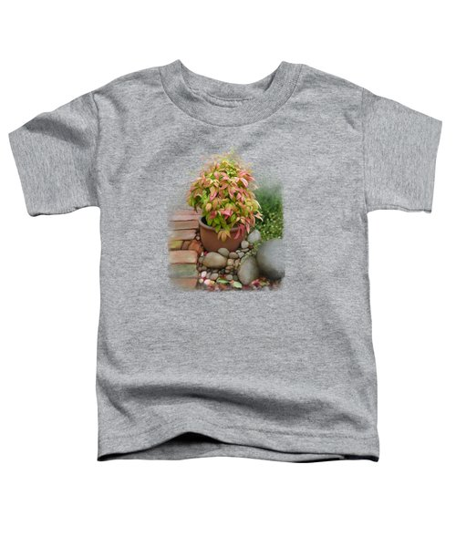 Dew On Leaves Toddler T-Shirt