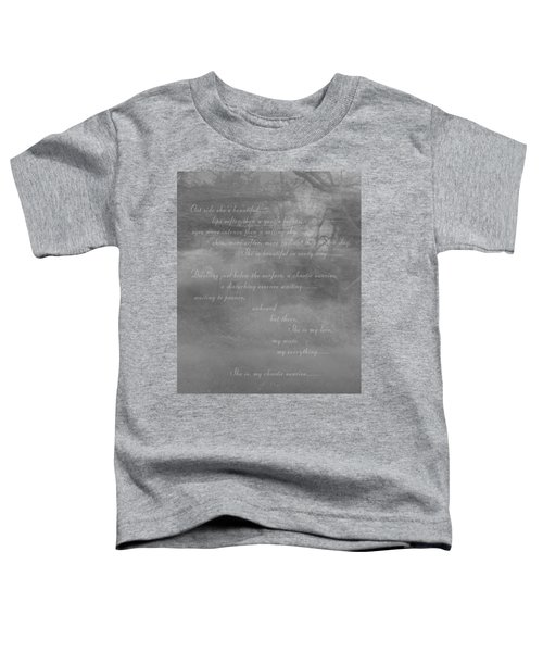 Digital Poem Toddler T-Shirt