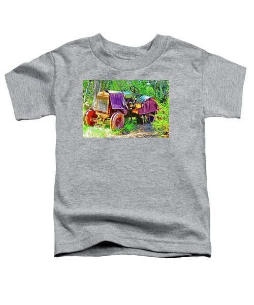 Dilapidated Tractor Toddler T-Shirt