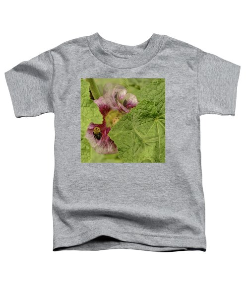 Dimensions Of Bees_flowers Toddler T-Shirt