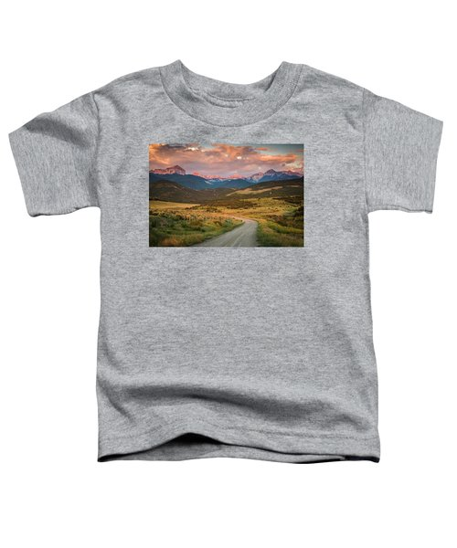 Toddler T-Shirt featuring the photograph Dirt Road by Whit Richardson