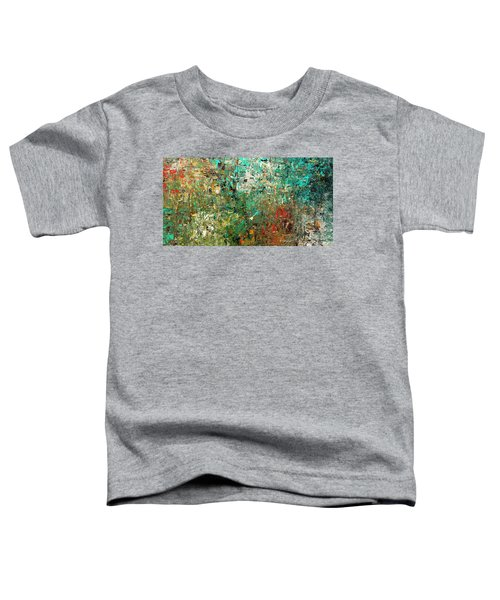 Discovery - Abstract Art Toddler T-Shirt