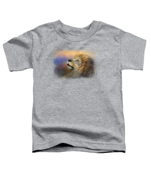 Do Lions Go To Heaven? Toddler T-Shirt by Jai Johnson