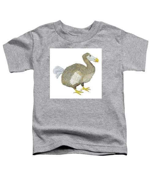 Dodo Bird Protrait Toddler T-Shirt