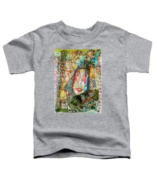 Doe Eyed Girl And Her Spirit Guides Toddler T-Shirt