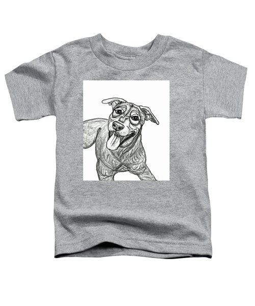 Dog Sketch In Charcoal 5 Toddler T-Shirt