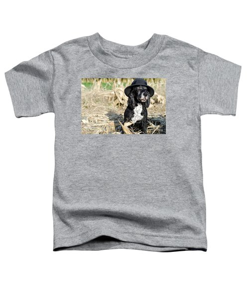 Dog With A Hat Toddler T-Shirt