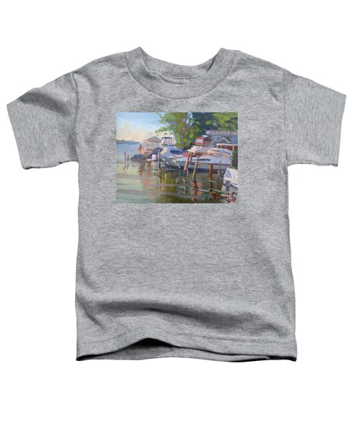 Docks At The Shores  Toddler T-Shirt