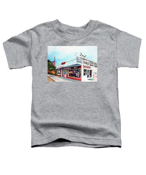 Dolphin Dock I Toddler T-Shirt