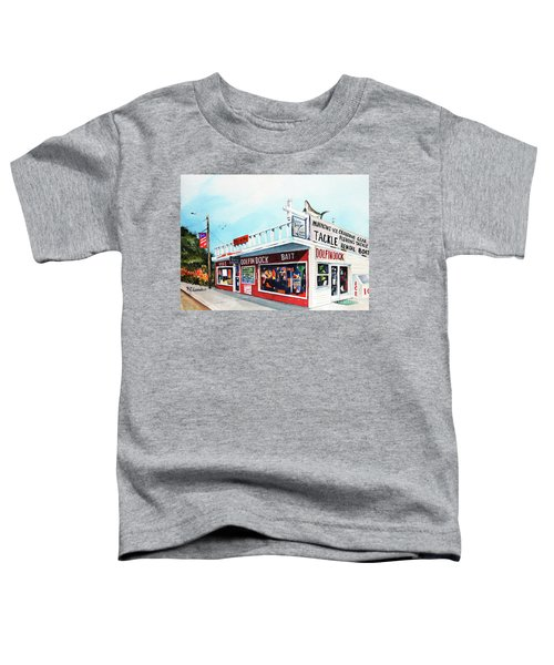 Dolphin Dock I Toddler T-Shirt
