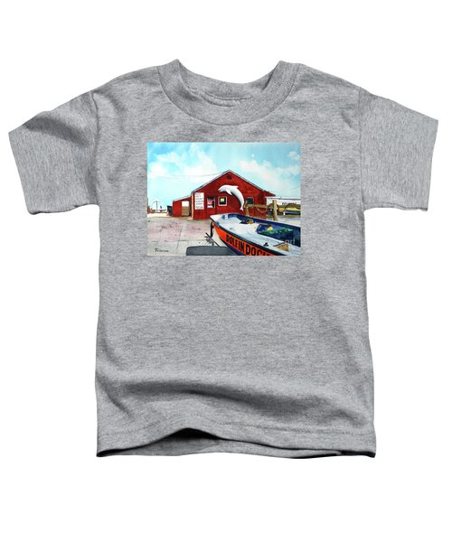 Dolphin Dock II Toddler T-Shirt