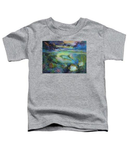 Dolphin Fantasy Toddler T-Shirt