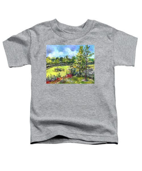 Don T Forget The Wall Toddler T-Shirt