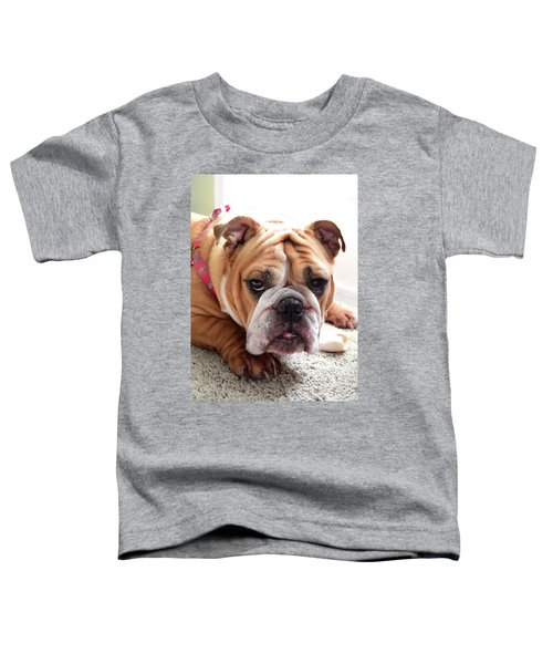 Don't Touch My Bone Toddler T-Shirt