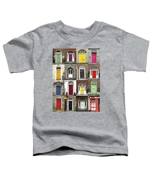 Doors Of Limerick Toddler T-Shirt