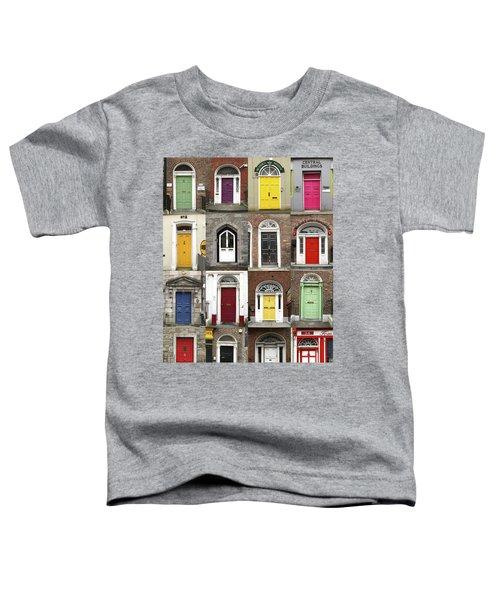 Doors Of Limerick Toddler T-Shirt