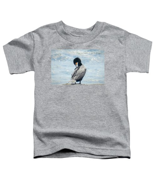 Double-crested Cormorant   Toddler T-Shirt