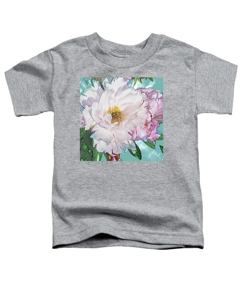 Double Peony Toddler T-Shirt