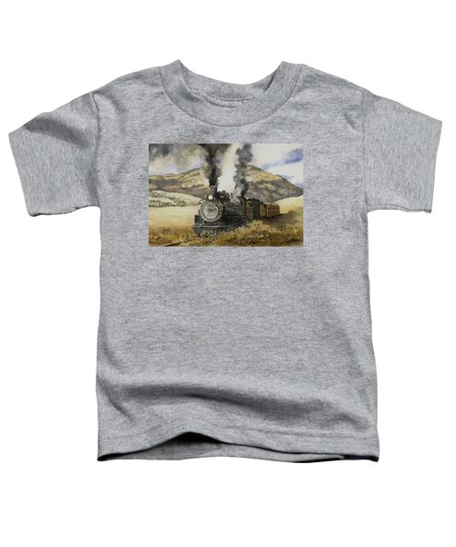 Double Teamin To Cumbres Pass Toddler T-Shirt