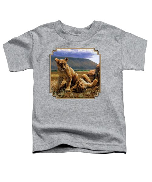 Double Trouble Toddler T-Shirt by Crista Forest