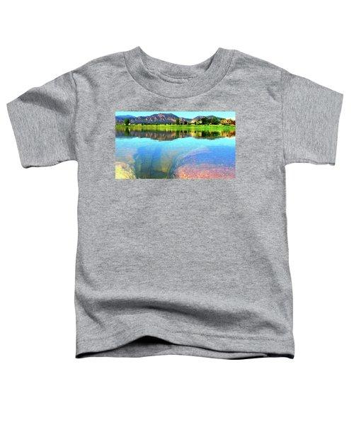 Doughnut Lake Toddler T-Shirt