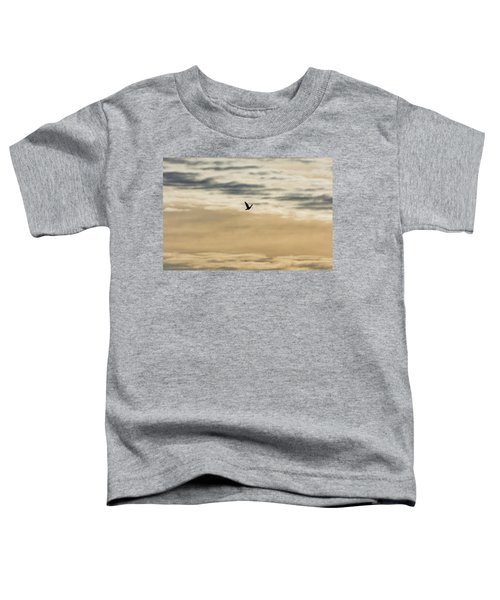 Dove In The Clouds Toddler T-Shirt