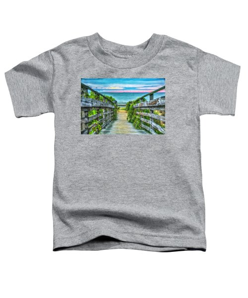 Down To The Beach Toddler T-Shirt