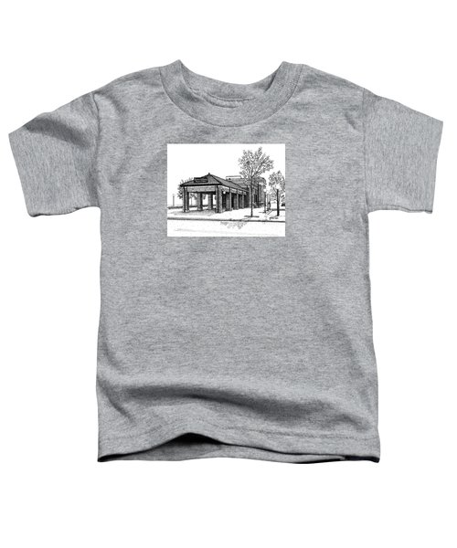 Downers Grove Main Street Train Station Toddler T-Shirt
