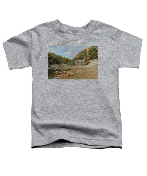 Downstream From Cumberland Falls Toddler T-Shirt