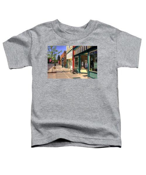 Downtown Palouse Washington Toddler T-Shirt