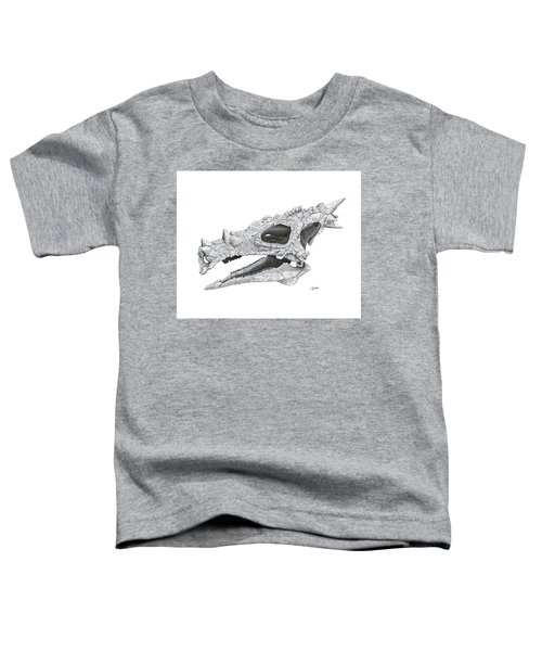 Dracorex Hogwartsia Skull Toddler T-Shirt